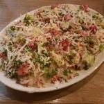 89820285 - 「アカハタ」のカルパッチョ サラダ仕立て