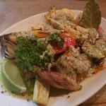 89820294 - 季節野菜のオーブン焼き アンチョビソース