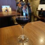 池袋 肉バルBon - ☆グラスワイン赤(*^_^*)☆