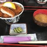 水峰 - ソースカツ丼880円