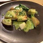 エピス - 魚料理はメカジキのポワレ、ハーブバターソース