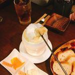 チーズカフェ& - 初のチーズフォンデュ