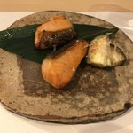 よし春 - ●鱒の介キングサーモン西京焼