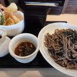 ごっつ庵 - 料理写真:ランチCセット(そば大盛り)