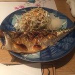 石和川 - 焼魚:鯖