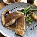 Restaurant L LOTA - ランチの魚ソテー