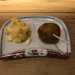 平安楽 - ころいもとポテトサラダ