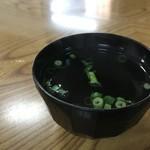 本家きむらや - 料理写真:お吸い物椀に並々と注がれた漬け出汁、鰹、昆布に隠し味有り(2018.7.26)