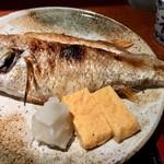 めしの助 - あかむつ(のど黒)塩焼き