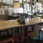 本家きむらや - 店内は、大テーブル中心に相席も有り(2018.7.26)