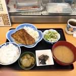 二八そば 晃市 - 料理写真:マグロカマトロステーキ1000円