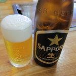 ひろっちゃん - サッポロラガー400円