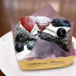 プランミュゲ - ベリーのシフォンケーキ(262円)