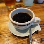 89840130 - とろとろ・ツナカマ・ペペロンチーノスパゲッティーニ日替わりセット1,000円につくコーヒー