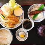 箱根家 - わかさぎの天ぷらは揚げたて