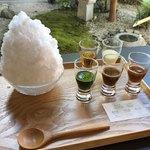 89843033 - 静岡茶氷三昧、880円。(内税)