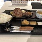 1ポンドのステーキハンバーグ タケル - サーロインR(250g)2090円
