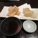 笊そば 蕎すけ - 料理写真:「穴子の天ぷら」