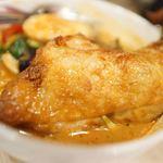 スープカレー Maharaja - 揚げチキン