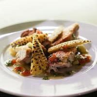 帝國食堂-あべ鶏もも肉の皮パリロースト
