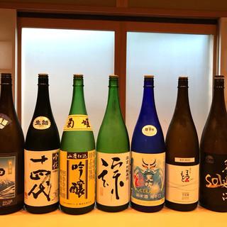 体に沁み渡る美酒に酔う。京料理に添う、こだわりのコレクション