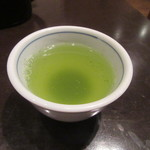 笊そば 蕎すけ - 緑茶