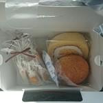 菓子工房 ひのでや - 料理写真:生キャラメル2、まんてんロール、焼きたてシュー
