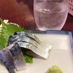 お多福 - 料理写真:きずし&芋ロック