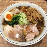 ワンタンメンの満月 - 冷やしワンタン麺