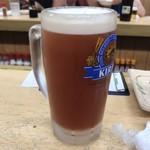 だるま - 生ビール(トマト)