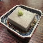 Sobadokoro Wamura - 「ごま豆腐」
