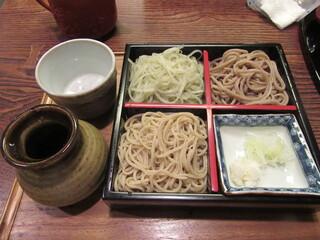 そば処 和邑 - 「三色盛」