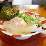 長浜豚骨ラーメン 一番軒 総本家 - 白豚骨ラーメン(680円)