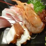 日本酒とお魚きっちん 祐星 - お造り