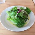 大和ピザ - 料理写真:サラダとドリンクで230円