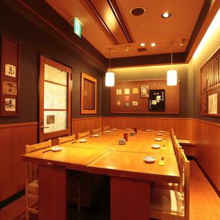 宴会個室24名様までOKの個室をご用意◎ご予約オススメします
