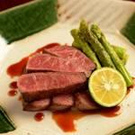 北海道産和牛炙りステーキ