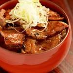 釧路海藻ポーク豚丼