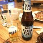 89852483 - 瓶ビールはハイト エクストラコールド