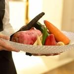 クルーズクルーズTHE GINZA - 野菜ソムリエがこだわりの野菜を厳選