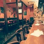 LA TEPPARNYA - 陽気な雰囲気の店内、女子会にデートに歓送迎会に♪