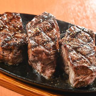 銀次郎のステーキ