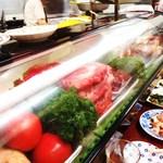 初ちゃん - お肉の陳列
