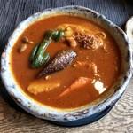 ポレポレ - 料理写真:スリランカカレー、辛さ200番。