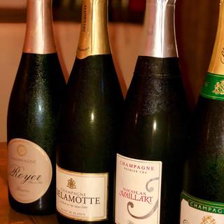 本格派の美食フレンチは健全な美しきワインと共に…