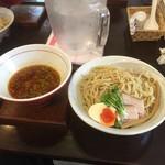 麺ゃ しき - つけ麺 中盛り(300g)