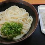讃岐うどん屋 - 料理写真:しょうゆうどん大