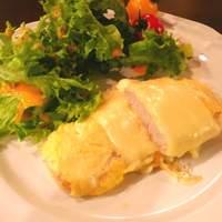 カフェ デラ ドンナ - ある日の日替わりランチ ポークピッカータ