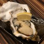 和食ビストロ寛 - 冬の牡蠣夏の牡蠣楽しめます。
