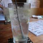 居酒屋 肴とり - 塩レモンサワー